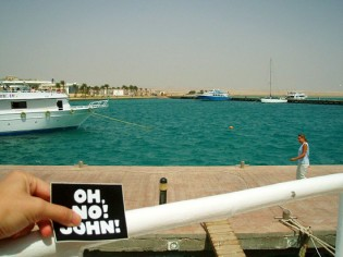 John in Marsa Alam, Egypt!
