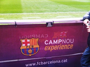 Regards from Camp Nou in Barcelona!