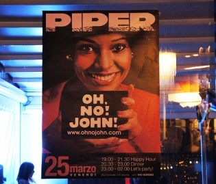 John and the Friday night fever at Piper!