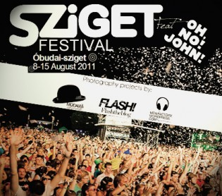 OH,NO!JOHN! at the SZIGET Festival 2011, Budapest!