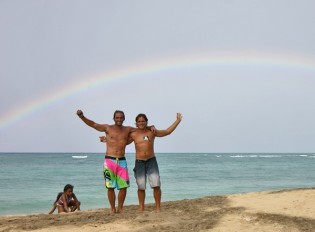 A caribbean rainbow for John!