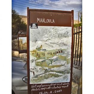 John is welcome in Maaloula, Syria!